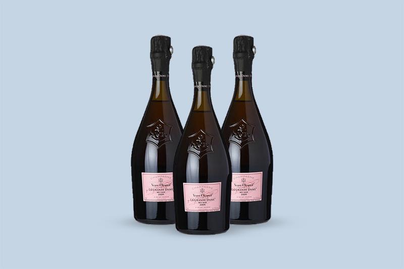 1989 Veuve Clicquot Ponsardin La Grande Dame Brut Rose, Champagne, France