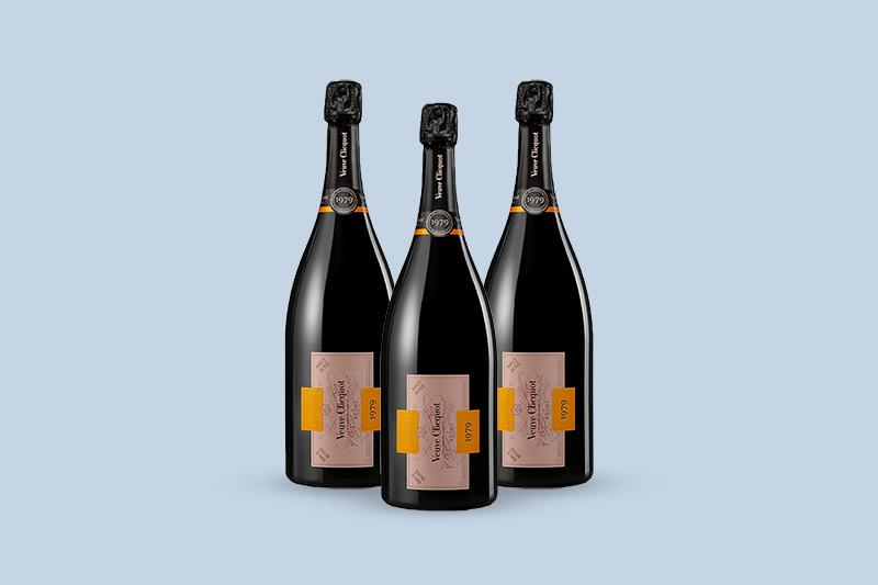 1979 Veuve Clicquot Ponsardin Cave Privee Collection Brut Rose, Champagne, France