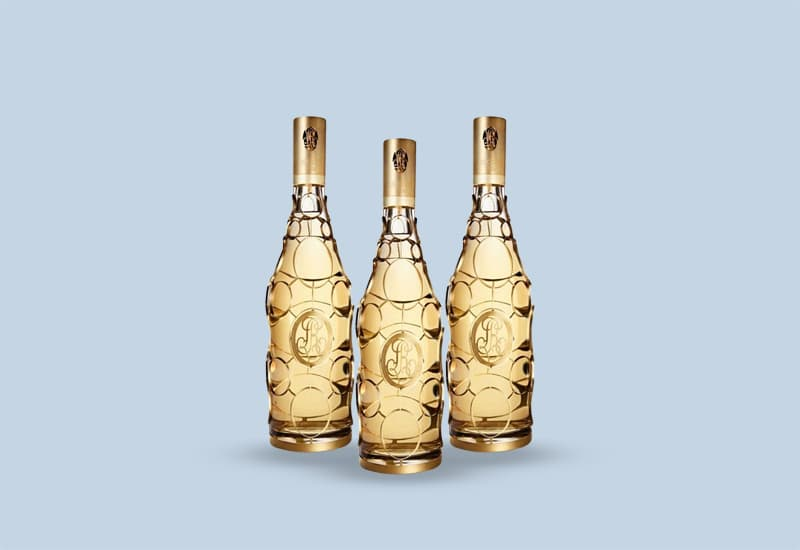 2002 Luis Roederer Crystal 'Gold Medalion' Orfevres Limited Edition Brut Mellesime