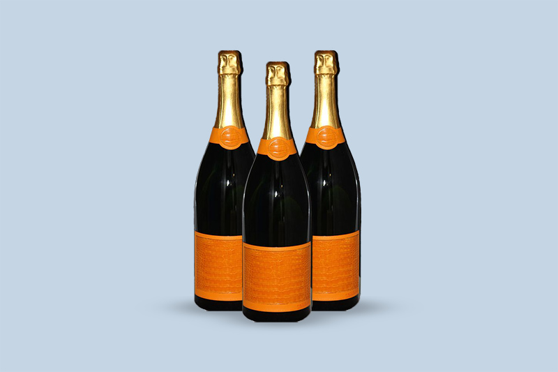 Veuve Clicquot Ponsardin Brut Yellowboam Alligator Skin, Champagne, France