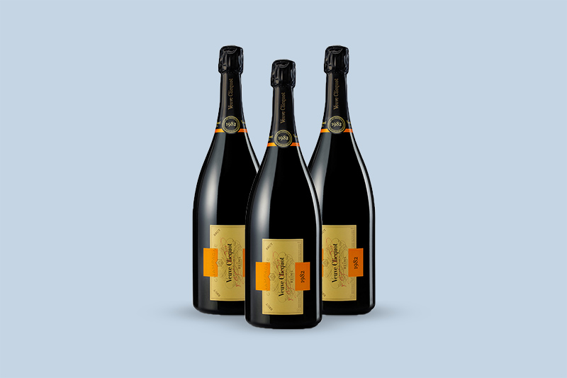 1982 Veuve Clicquot Ponsardin Cave Privee Collection Brut, Champagne, France