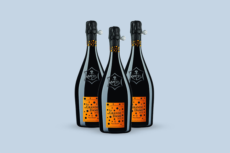 2012 Veuve Clicquot Ponsardin La Grande Dame Brut by Yayoi Kusama, Champagne, France