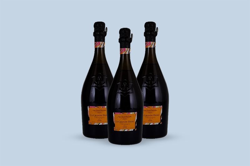 1996 Veuve Clicquot Ponsardin La Grande Dame Brut by Emilio Pucci, Champagne, France
