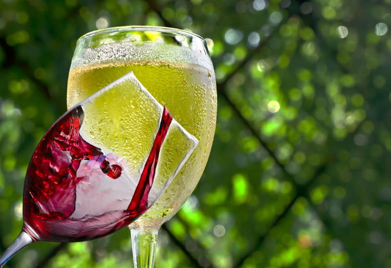 Making Red and White Wine more Green