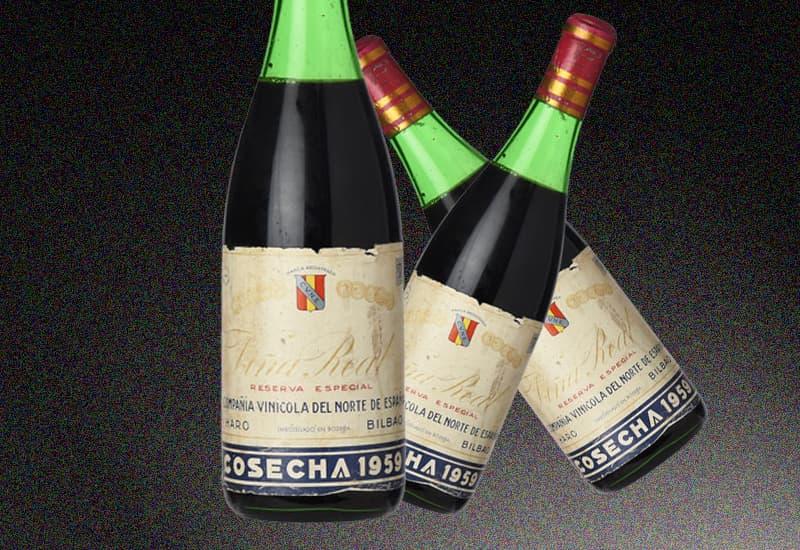 1959 CVNE Vina Real Reserva Especial, Rioja DOCa, Spain