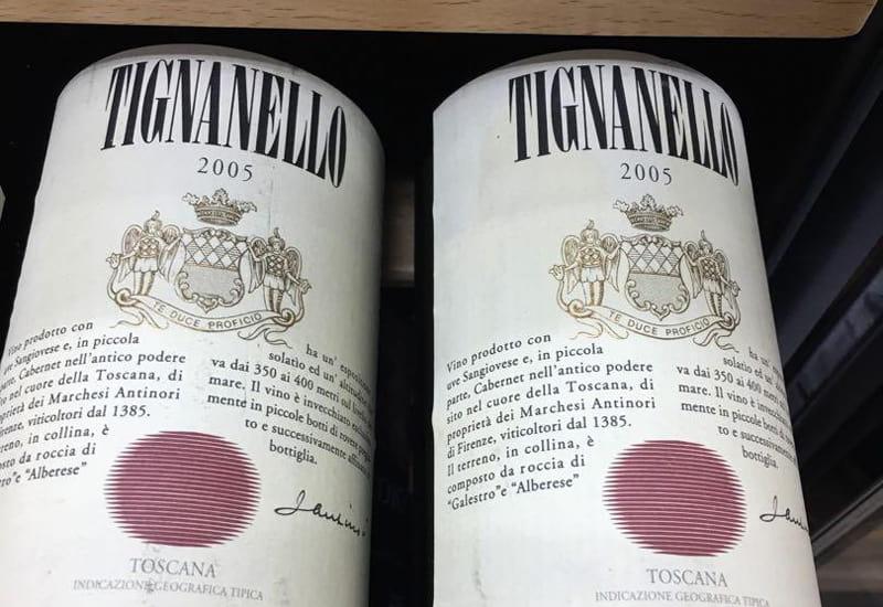 2005 Marchesi Antinori Tignanello Toscana IGT