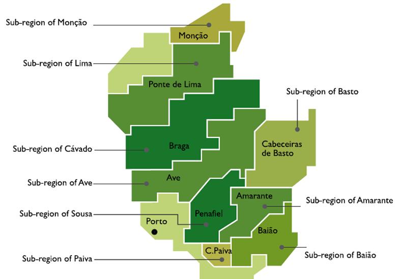 The Vinho Verde Wine Region
