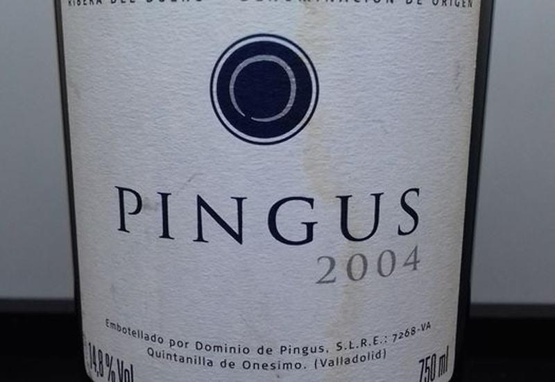 2004 Dominio de Pingus 'Pingus' Ribera del Duero, Spain