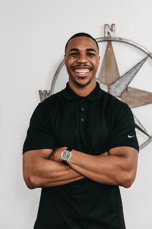 Dr. Jordan smiling