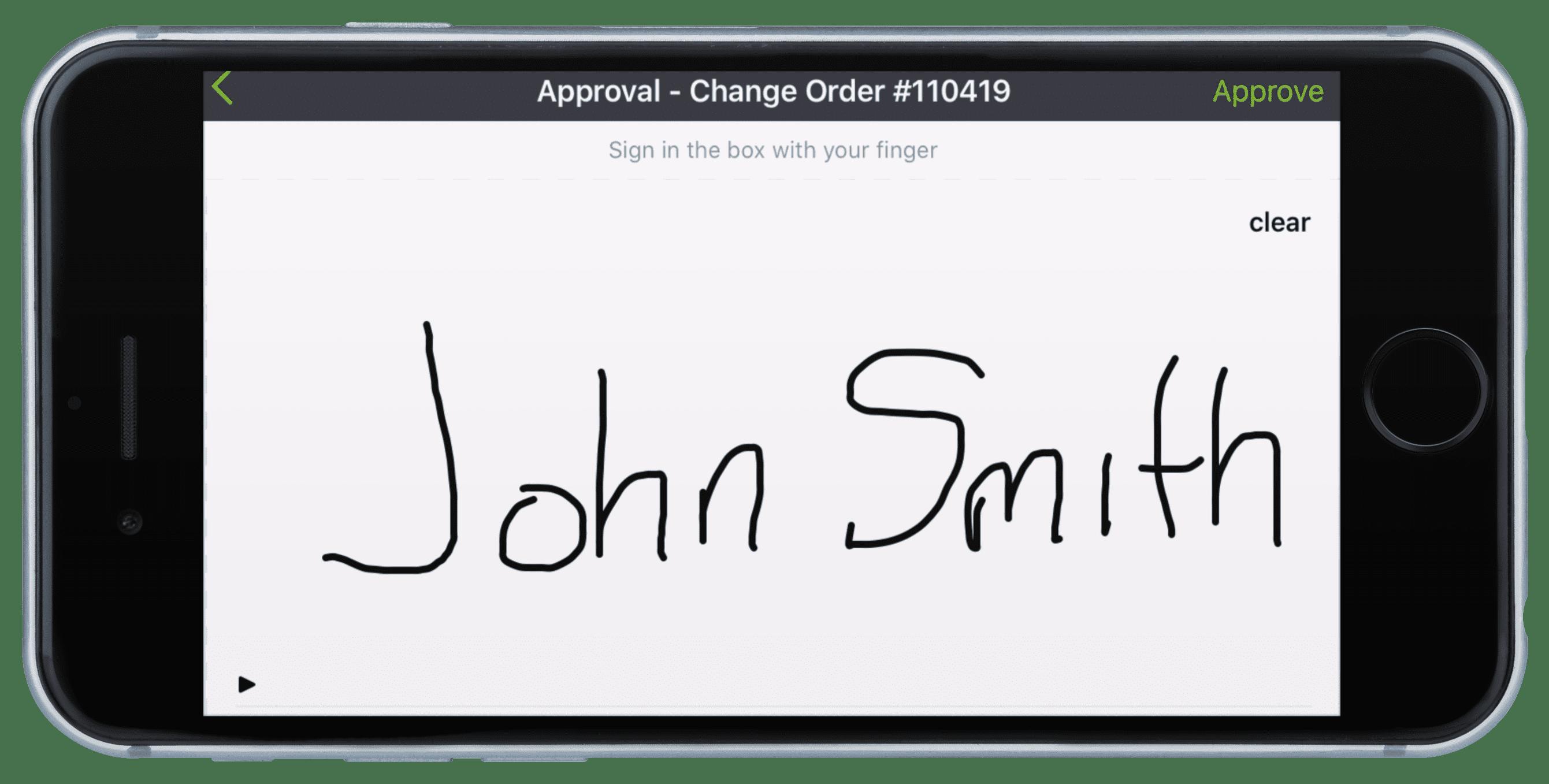 CoConstruct Mobile Signature