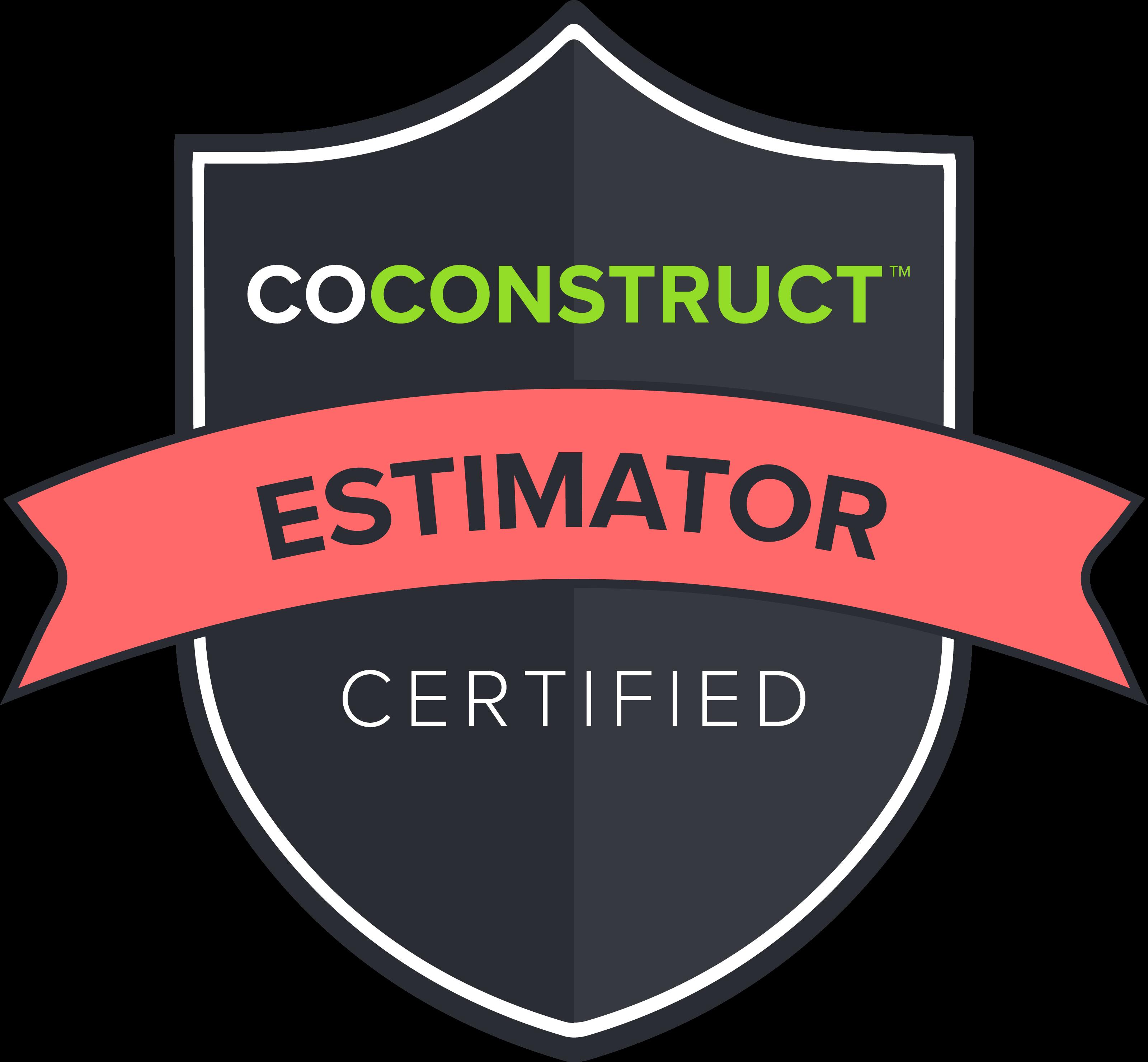 CoConstruct Estimator Badge