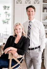 Emily and Dan C. of Clark & Co Homes, a Idaho-based custom home builder using construction project management software | CoConstruct