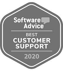 Software Advice 2020 Best Customer Support Award Badge | CoConstruct