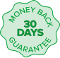 CoConstruct's construction management software 30-day money-back guarantee badge