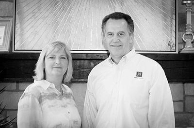 Kim and Jan Hibbs of Hibbs Homes, a CoConstruct customer