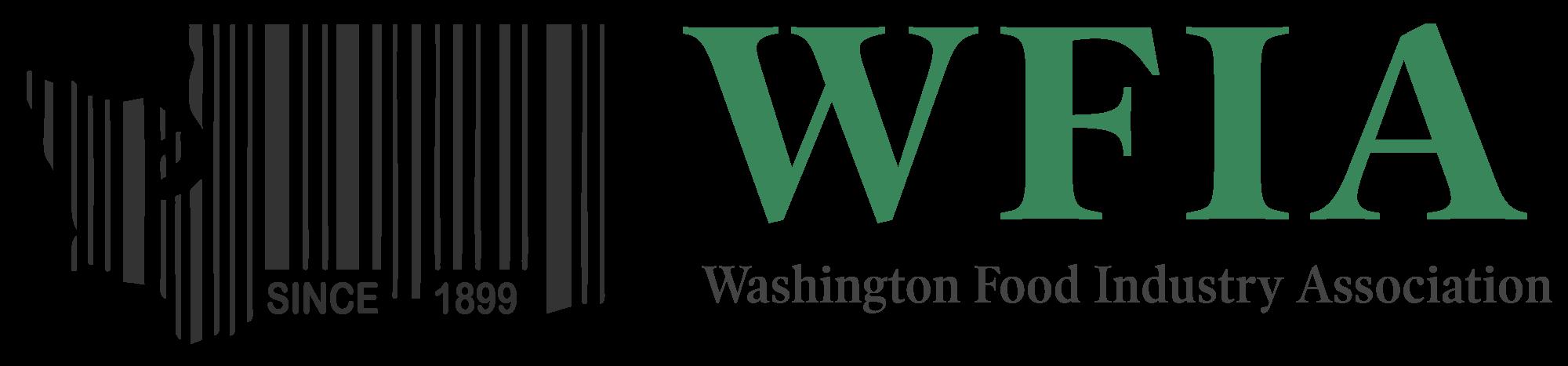 WFIA Logo - Barcode of Washington State
