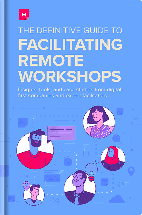 The Definitive Guide to Facilitating Remote Workshops Ebook Cover