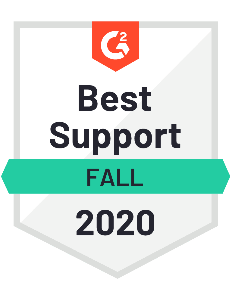 Best Support Fall 2020