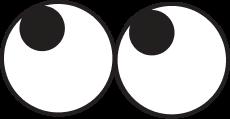 A crazy eyes emoji