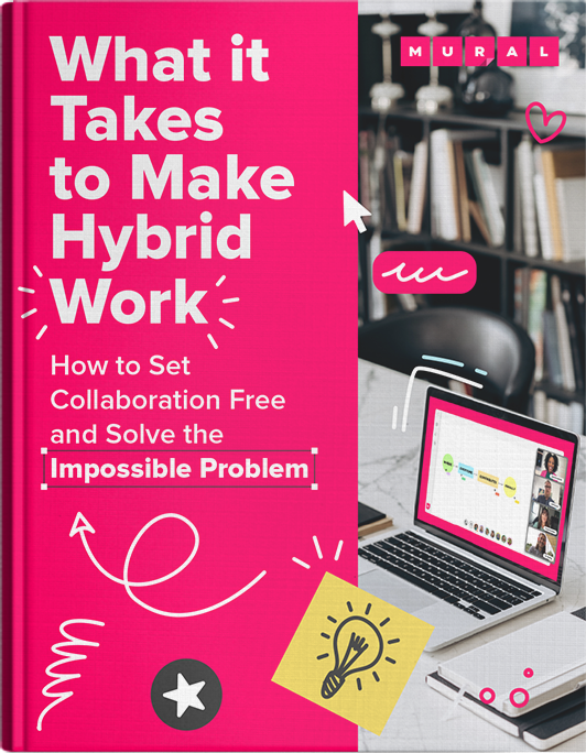 What it Takes to Make Hybrid Work Ebook Cover