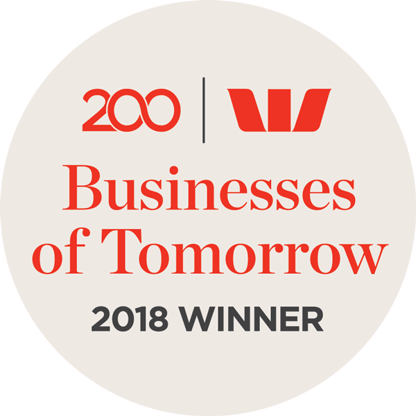 Westpac Business of Tomorrow Award