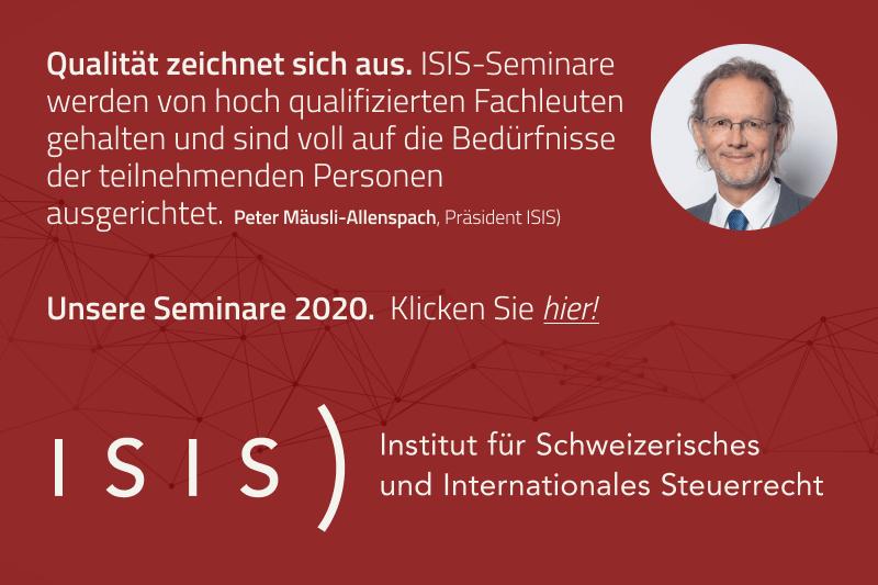 ISIS) – Seminarübersicht 2020