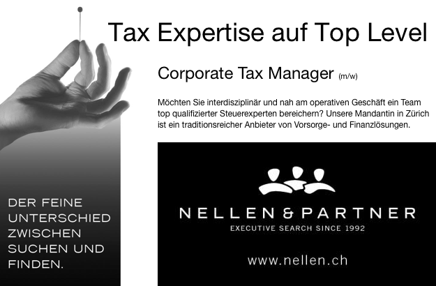 Nellen & Partner - Corporate Tax Manager