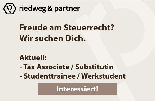 Riedweg & Partner - Wir sind immer auf der Suche nach Talenten