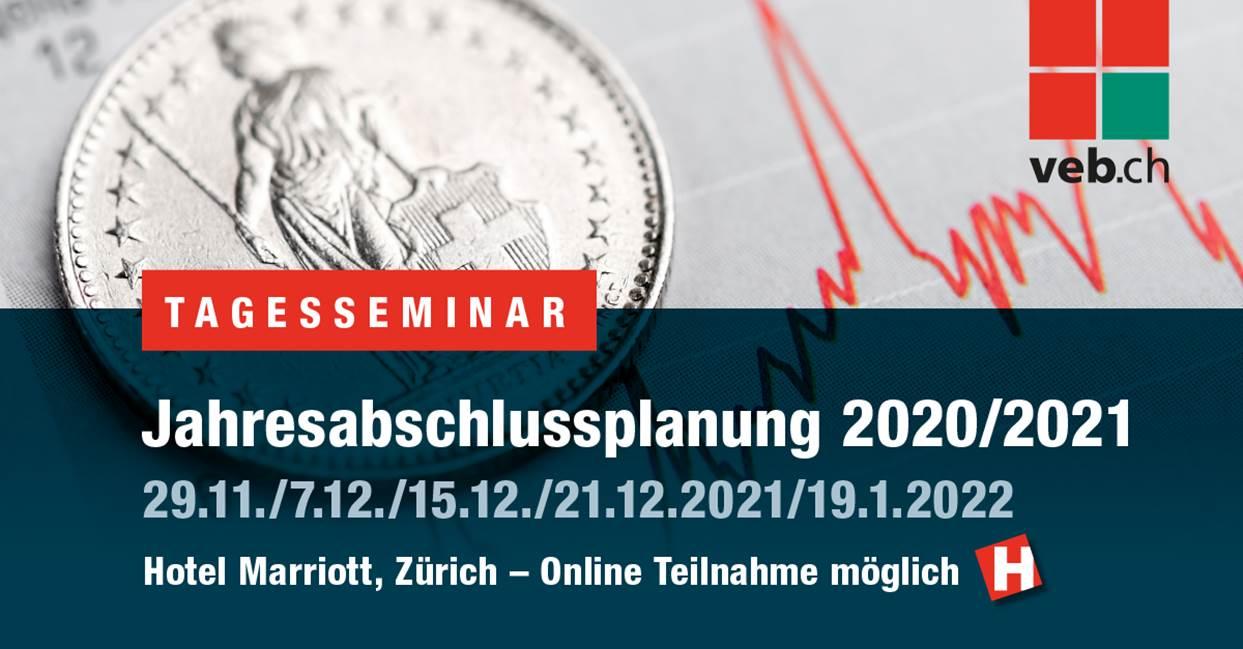 veb.ch – Jahresabschlussplanung 2021/2022
