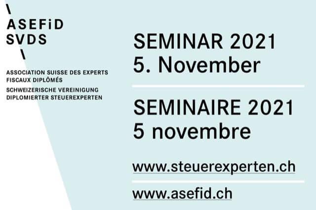 Tagesseminar ASEFiD / SVDS | 5. November 2021