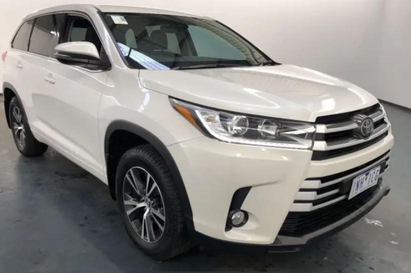 2018 Toyota Kluger GX GSU50R / 8 Speed Automatic / Wagon / 3.5L / 6 Cylinder / Petrol / 4x2 / 4 door / 1