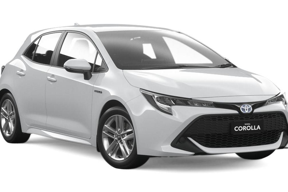 2019 Toyota Corolla ASCENT SPORT HYBRID ZWE211R / Automatic (CVT) / Hatchback / 1.8L / 4 Cylinder / Petrol / Electric / 4x2 / 5 door / 8