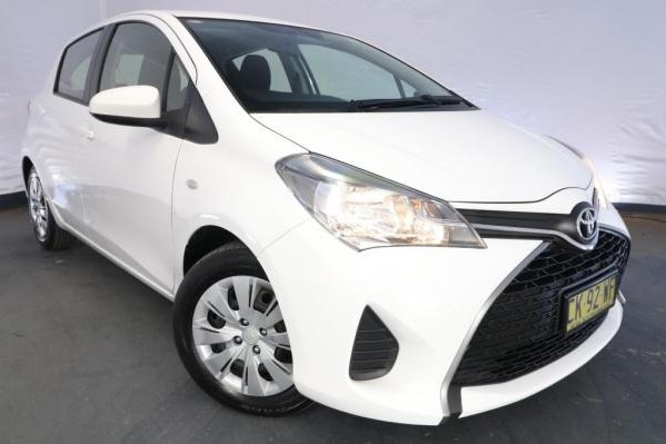 2017 Toyota Yaris ASCENT NCP130R MY17 / 4 Speed Automatic / Hatchback / 1.3L / 4 Cylinder / Petrol / 4x2 / 5 door / Model Year '17 3