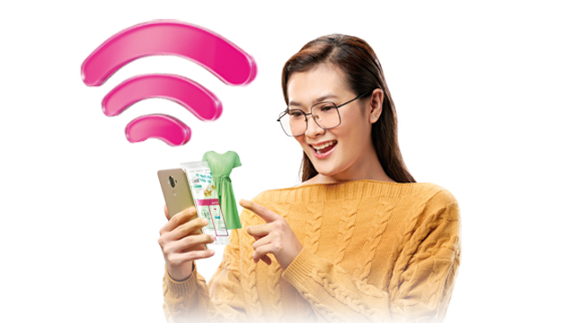 Shop from home with Astro & high-speed Broadband