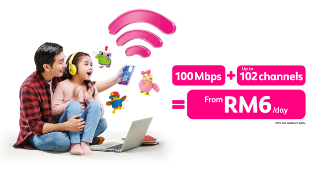 #WhateverFromHome with Astro & high-speed Broadband