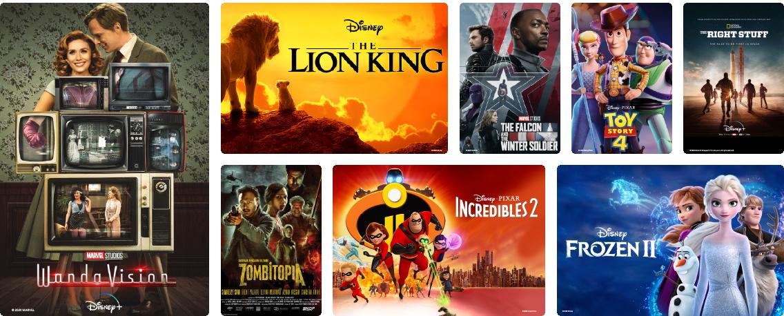 Content - Disney Hotstar