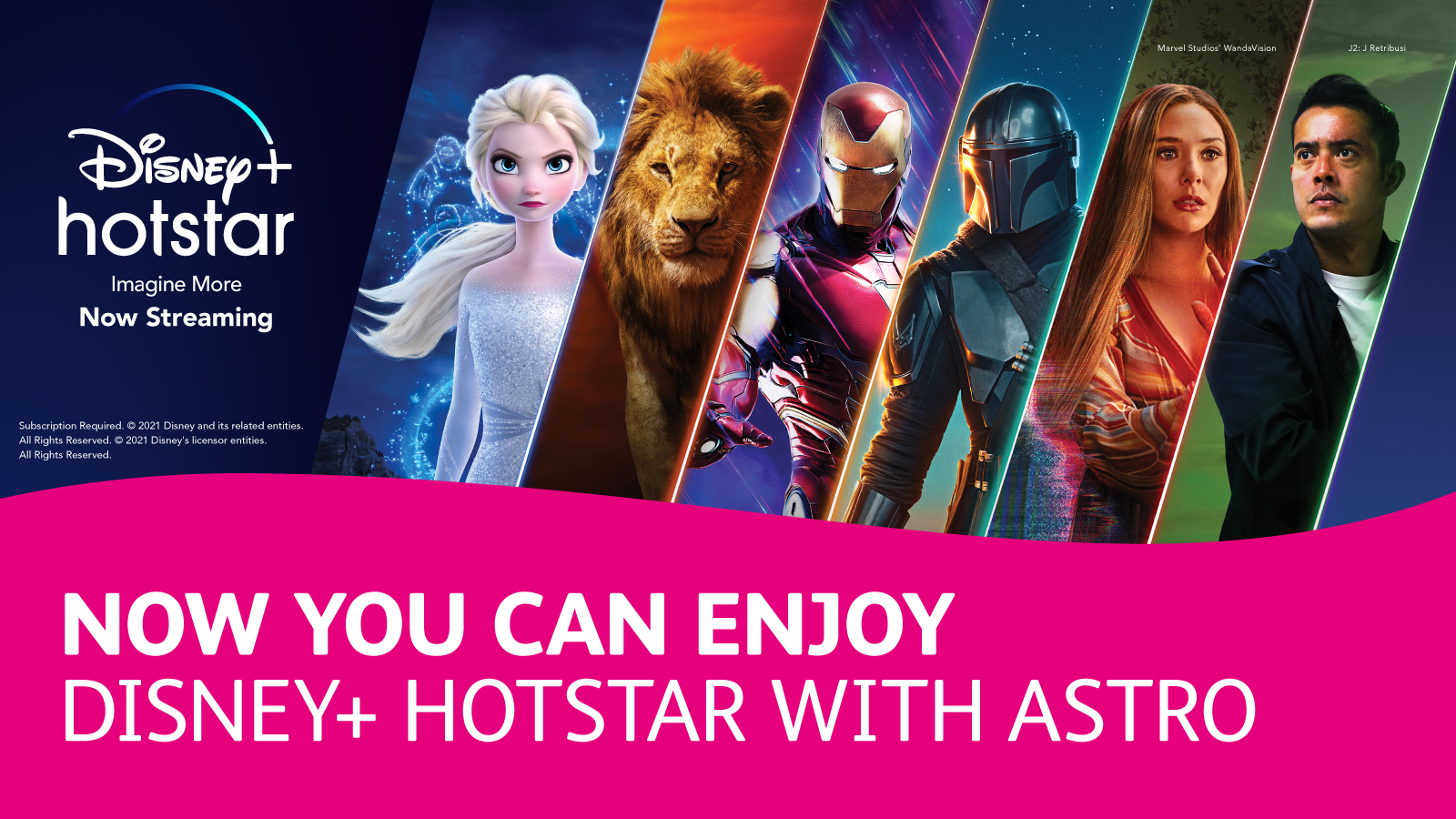 Enjoy Disney+ Hotstar with Astro Movies Pack. Subscribe Now!