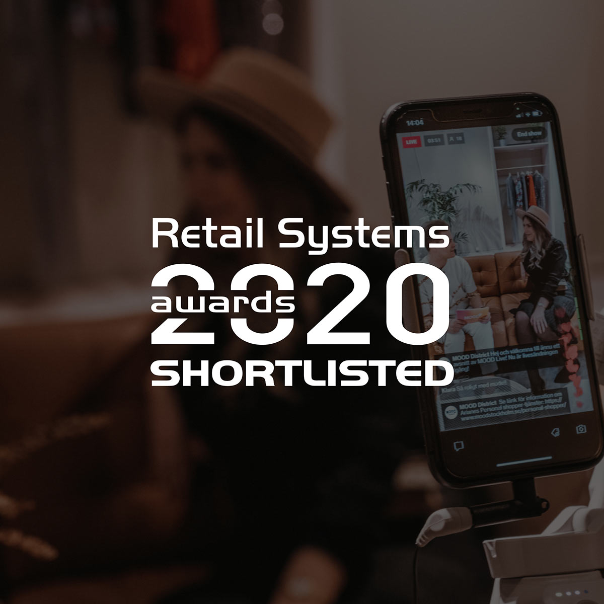 """Bambuser shortlisted for 2021 """"Most Disruptive Retail Technology"""" Retail Systems Award"""