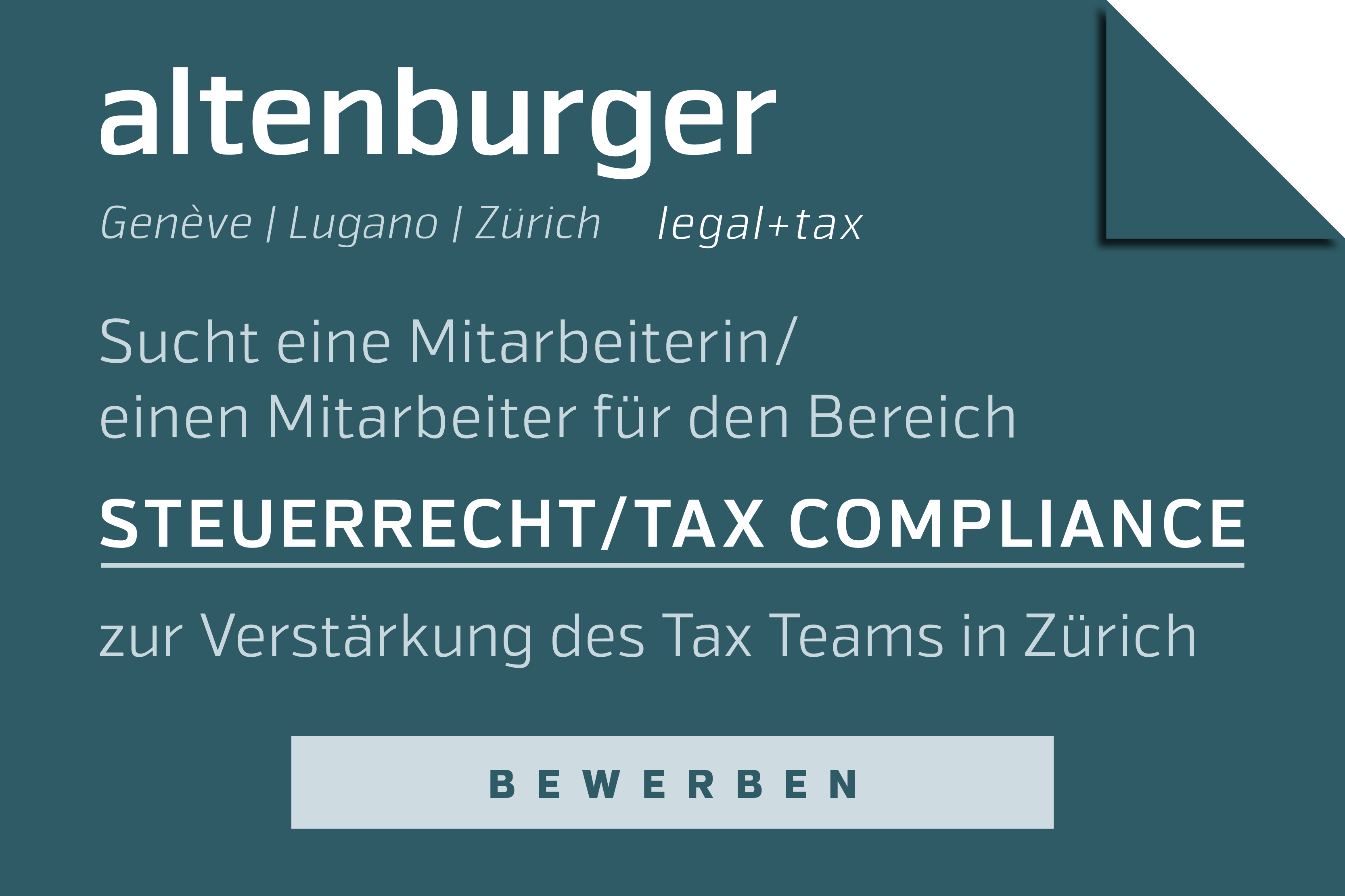 https://www.altenburger.ch/career/tax-compliancerecht/