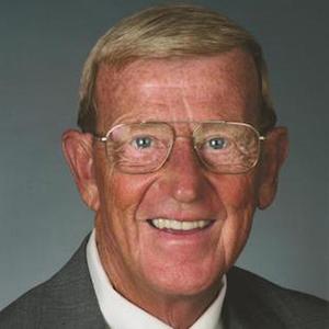 Coach Lou Holtz