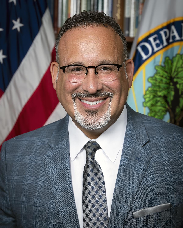 Secretary Miguel Cardona