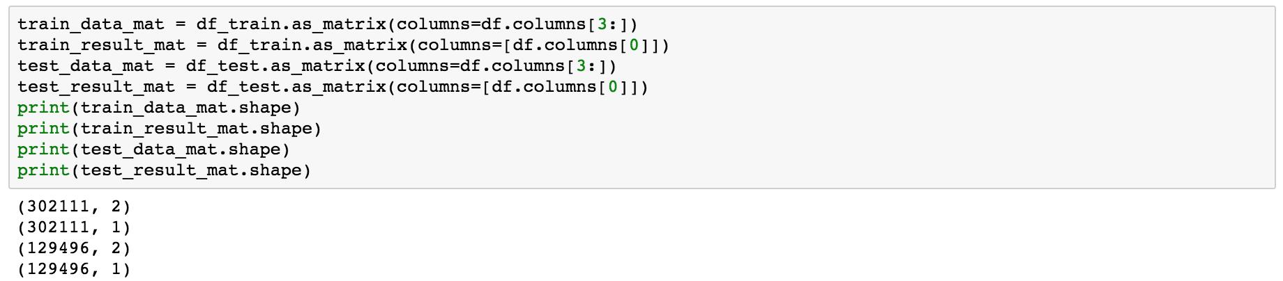 Encode categorial columns