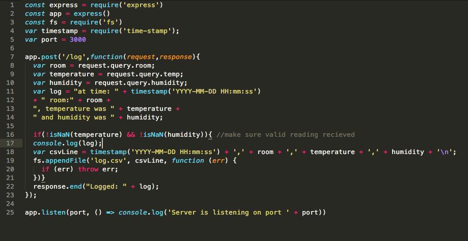 Create app.js