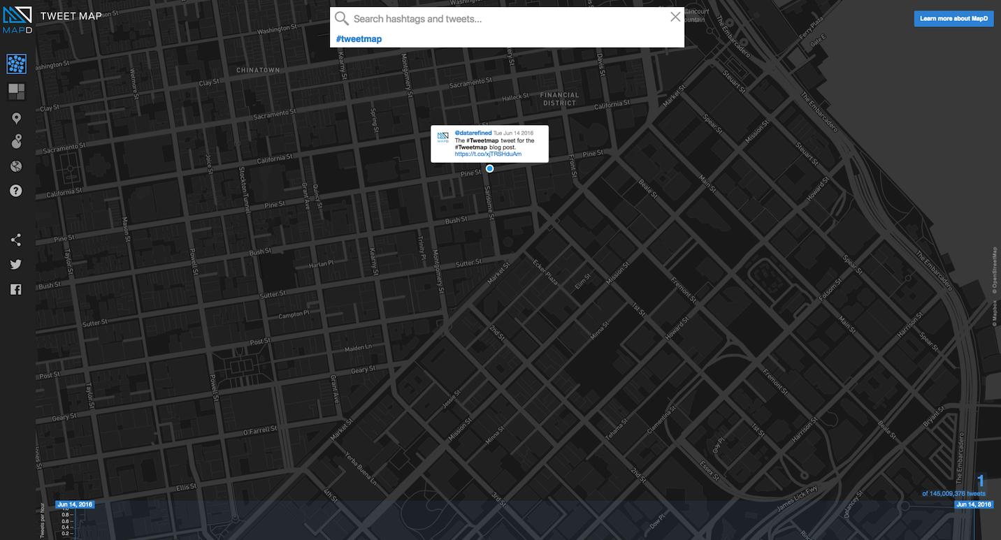 tweetmap location