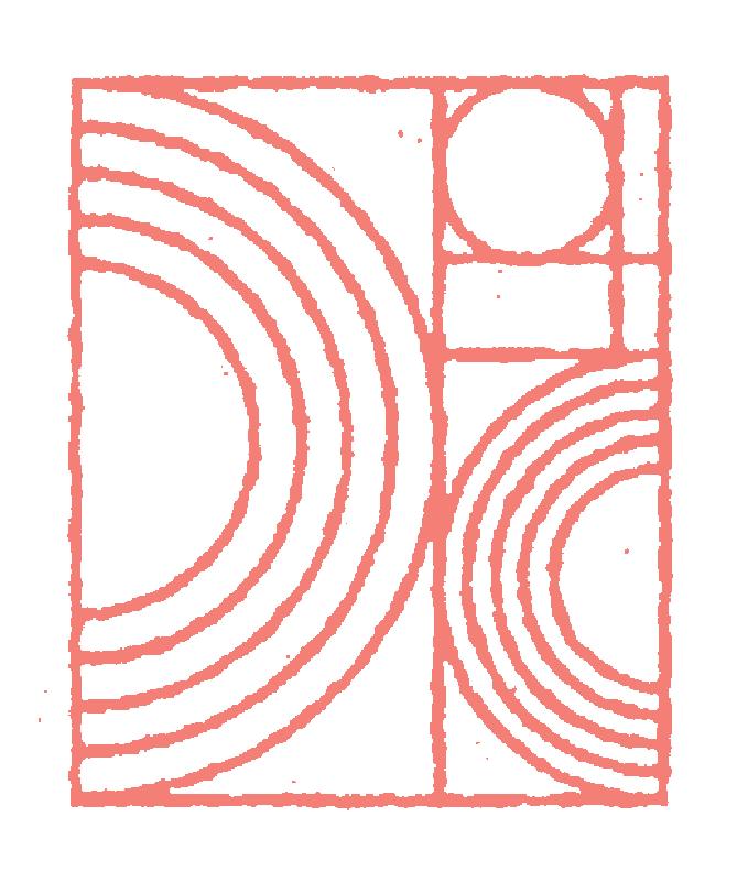 Deep City Rectangular Logo Symbol. No text