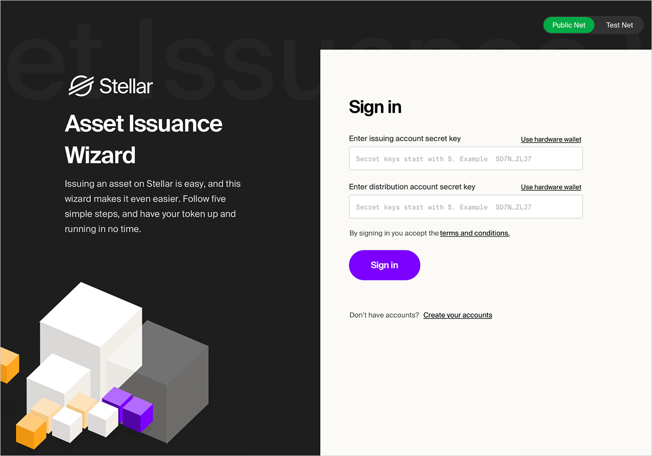 asset-issuance-wizard