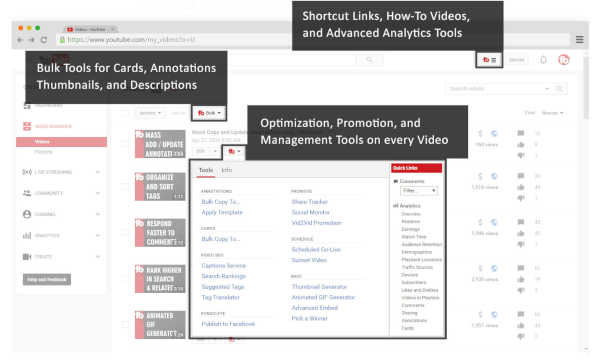 YouTube Advertising for Artists is easier with TubeBuddy