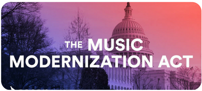 The Music Modernization Act has been signed into law