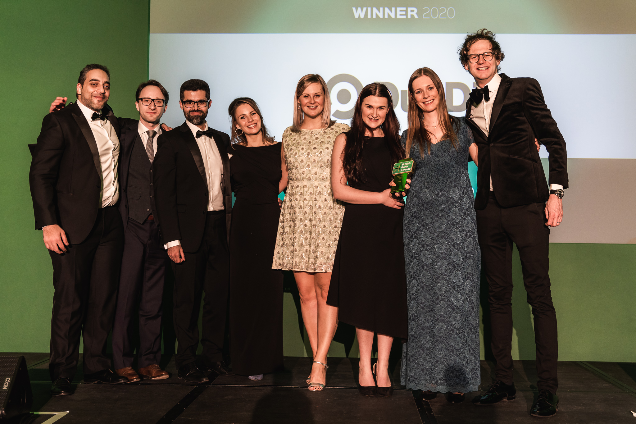 DueDil wins RegTech Partner of the Year at the British Bank Awards 2020