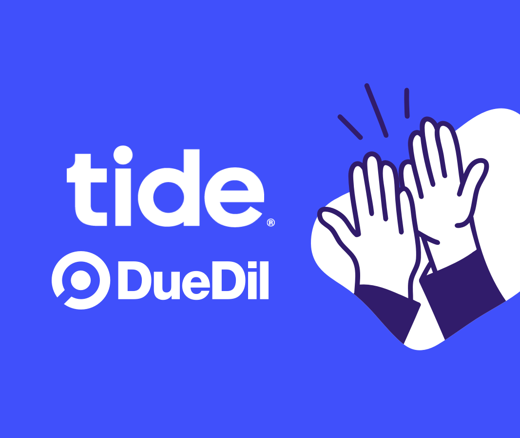 Tide and DueDil partner to open accounts for SMEs
